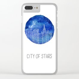 La La Land Movie Poster Clear iPhone Case