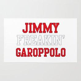 Jimmy Freakin' Garoppolo Rug