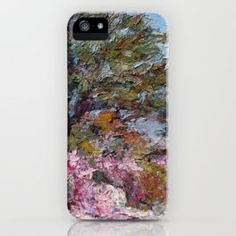 In The Pink — Point Lobos, Carmel, California iPhone Case