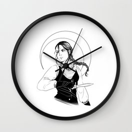 The Wraith Wall Clock