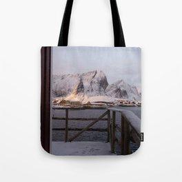 Morning in Lofoten Tote Bag
