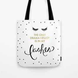 Lash Drama Tote Bag