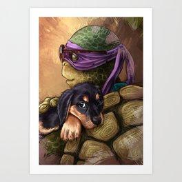 Donatello Art Print