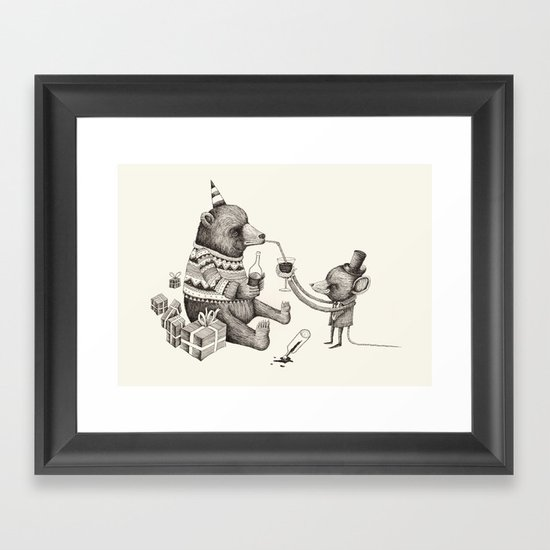 'Excessmas - Part 1' Framed Art Print