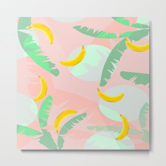 Rumba Banana Metal Print