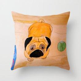 Pug Throw Pillow