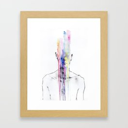 Man Art Framed Art Print