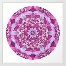 Melody Mandala Art Print