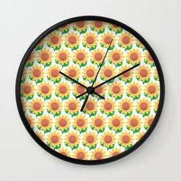 Sunflower_B Wall Clock