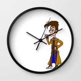 10th Doctor (Brown) Wall Clock