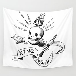 King Death Wall Tapestry