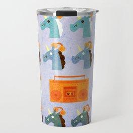 BoomBox Unicorn Travel Mug
