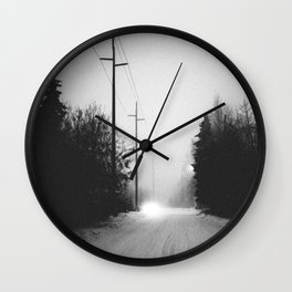 The Oncoming Wall Clock