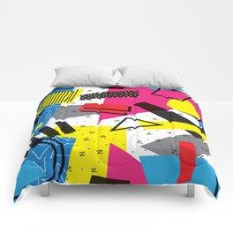 Retro 80s be that Comforters