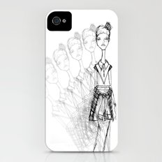 GrungeGirl. Slim Case iPhone (4, 4s)