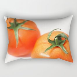 Two tomatoes Rectangular Pillow