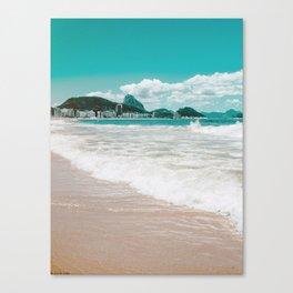 Sugar Loaf from Copacabana Canvas Print