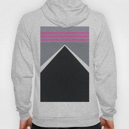 August - mirror pink Hoody