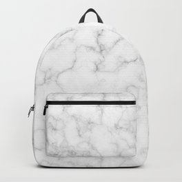 White Marble Backpack