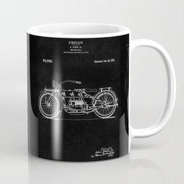 Motorcycle Blueprint 1919 Coffee Mug