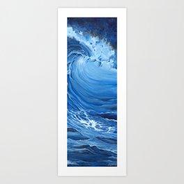 Inside the Wave Art Print