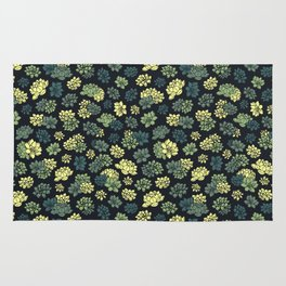 Succulents Pattern Rug