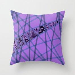 Henna Inspired Throw Pillow