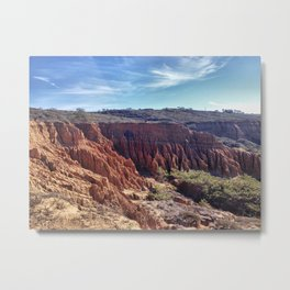 SoCal Cliffs Metal Print