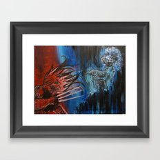 Hunting Framed Art Print