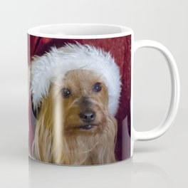 Yorkshire (yorkie) / Silky Terrier Christmas Coffee Mug