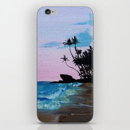 Beach Inspired 2 iPhone Skin