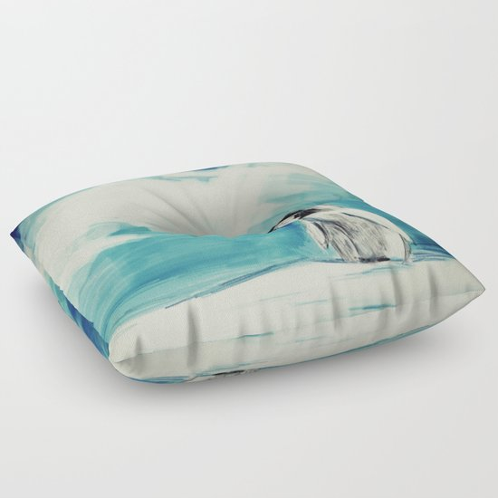 How To Make A Floor Pillow For Baby : Baby Penguin Floor Pillow by James Peart Society6