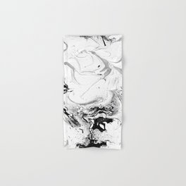 // MARBLED WHITE // Hand & Bath Towel