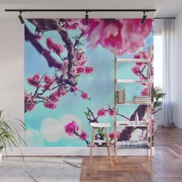 Blossoms in The Sky Wall Mural