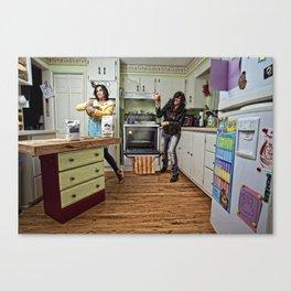 Domestic Duality Canvas Print