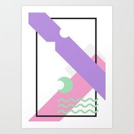 Geometric Calendar - Day 26 Art Print