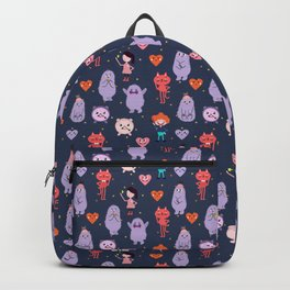 funny monsters Backpack