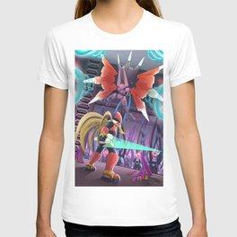 Megaman Red Light Sword T-shirt