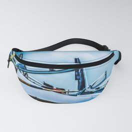 Raised Canopies Of Modern Fighter Aircrafts Fanny Pack