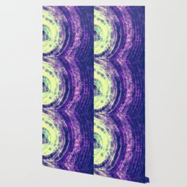 Green and Purple Abstract Wallpaper