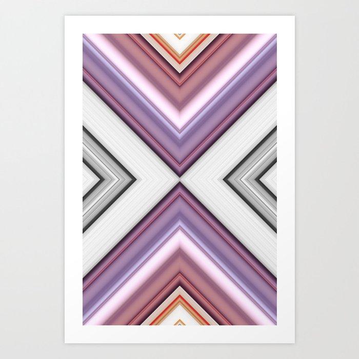 Metallic Smell Art Print