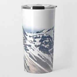 SNOW COVERED PEAKS AROUND CRATER LAKE Travel Mug