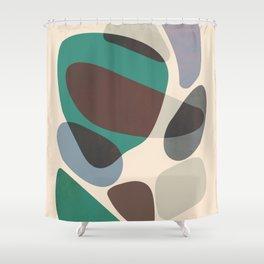 Stones 003 Shower Curtain