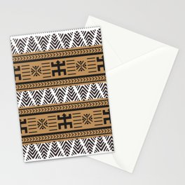 Mud Cloth Patterns Stationery Cards