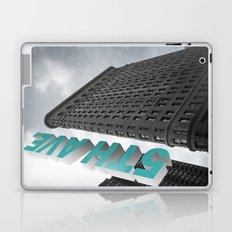 5th Avenue _ Flatiron (Fuller) Building New York City Laptop & iPad Skin