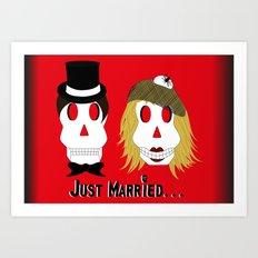 Marriage... Art Print