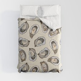 Oysters by the Dozen in Cream Comforters