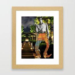 Fancy Pants Cowboy Framed Art Print