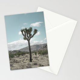 Joshua Tree On A Calm Cool Day Stationery Cards