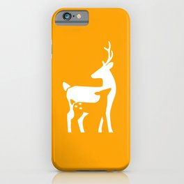 Stag and Fawn iPhone Case